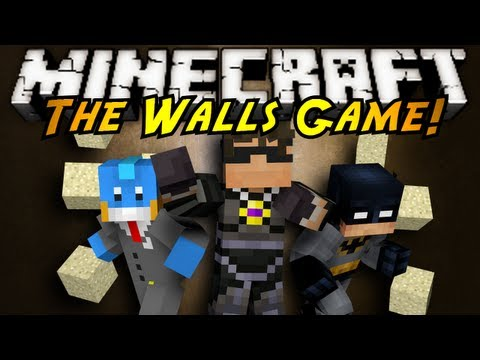 Minecraft Mini-Game : THE WALLS!