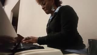Female organist