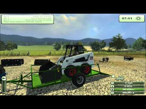 Farming simulator 2013: Mod Spotlight - Contest 2013 - Bobcat S160
