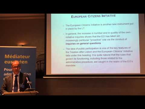 6 - Session 6 - Democracy and accountability in the EU: the role of the European Ombudsman