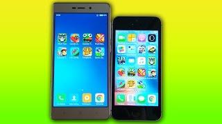 Xiaomi Redmi 3S vs iPhone 5S - КТО БЫСТРЕЕ? Speedtest