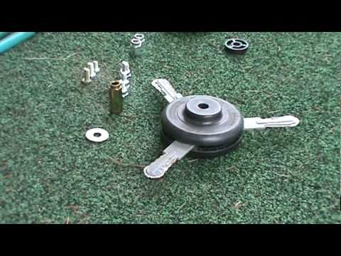 How To Change Heads On A Weed Eater Brand 25cc Trimmer ...