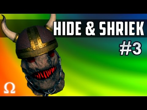 CURSE THE BLUE BALLS, NEVER GIVE UP! | Hide & Shriek #3 Ft. H2ODelirious