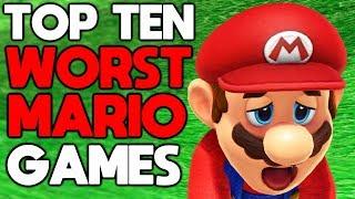 Top Ten Worst Mario Games [with NintendoLife]