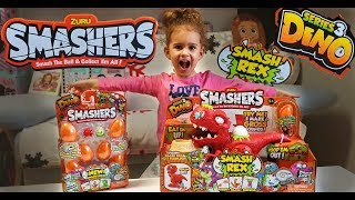 NEW ZURU SMASHERS SERIES 3 DINO EGGS - SMASH REX! Unboxing and Review