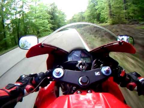 honda cbr 600 rr first ride with gopro5 wide- updated video description