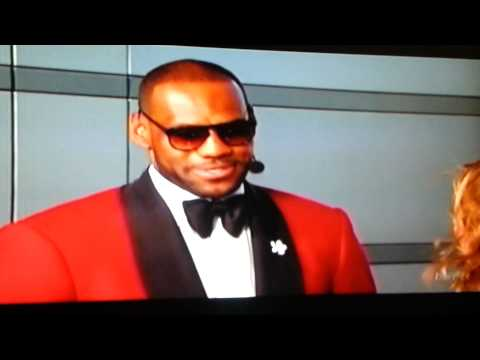 Lebron James Best player NBA @ESPYS Awards 2013