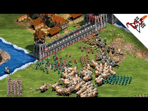 Age of Empires 2 - 4vs4 THE BEST WARRIOR | Multiplayer Gameplay