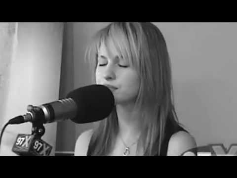 Paramore - Decode (acoustic) video