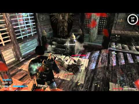 Tomb Raider Multiplayer -- #6, Rescue -- Neko Has a Minigun