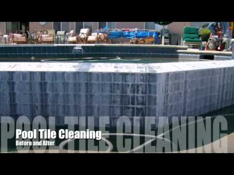 Pool tile cleaning pool tile cleaners bead blasting   http://www.poolrehab.com/