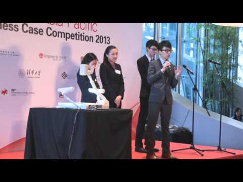 HSBC Asia Pacific Business Case Competition 2013 - Final Round Team 1 - HKUST (1st runner-up)