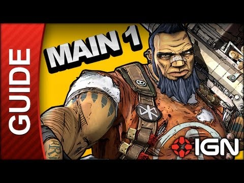 Borderlands 2 Walkthrough - My First Gun - Main Mission (Part 1)