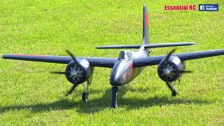 BIG FMS F7F Tigercat twin Electric RC plane