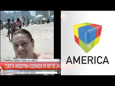 Asesinaron a una joven argentina en la playa de Copacabana