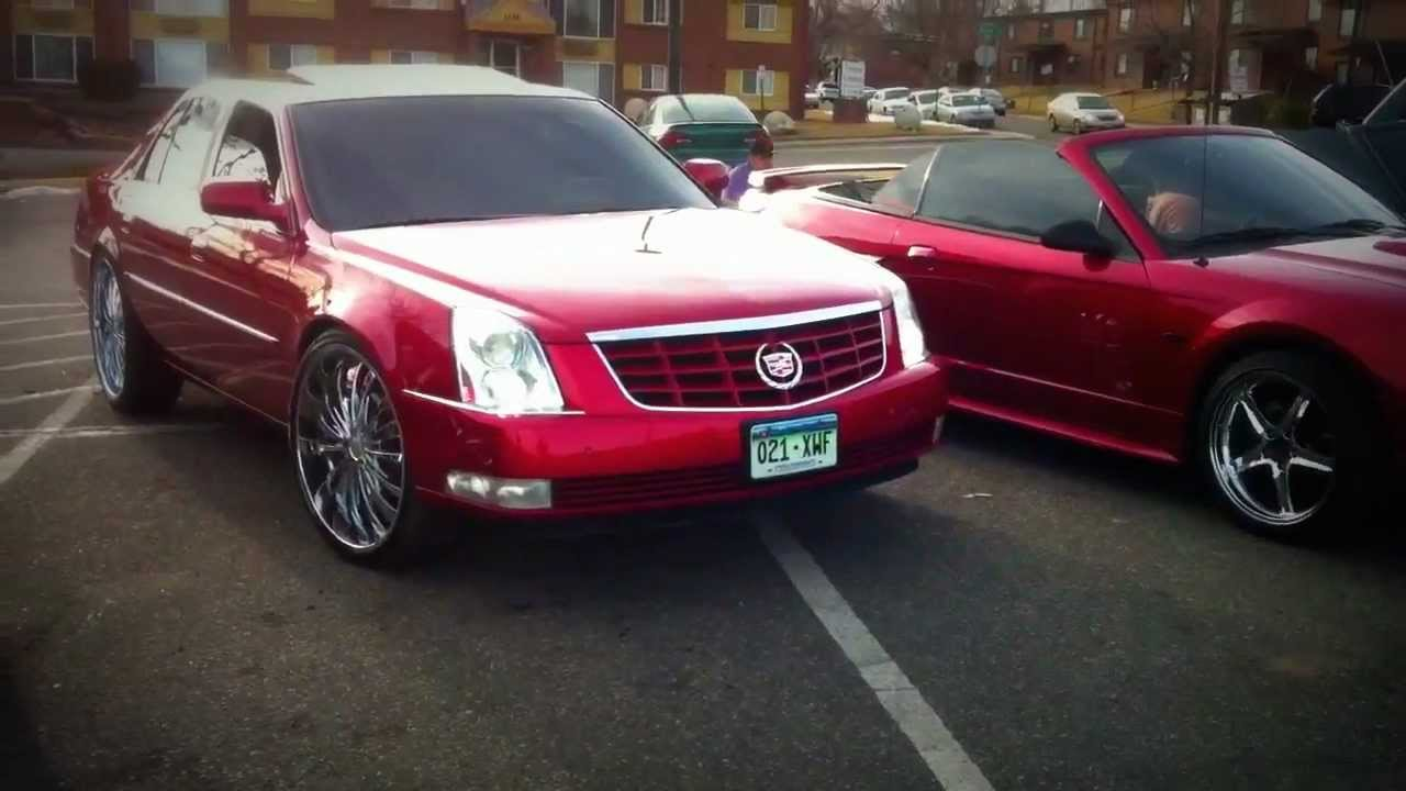 Cadillac Dts On 24s Youtube