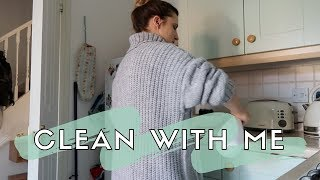 CLEAN MY KITCHEN WITH ME | MRS HINCH STYLE!