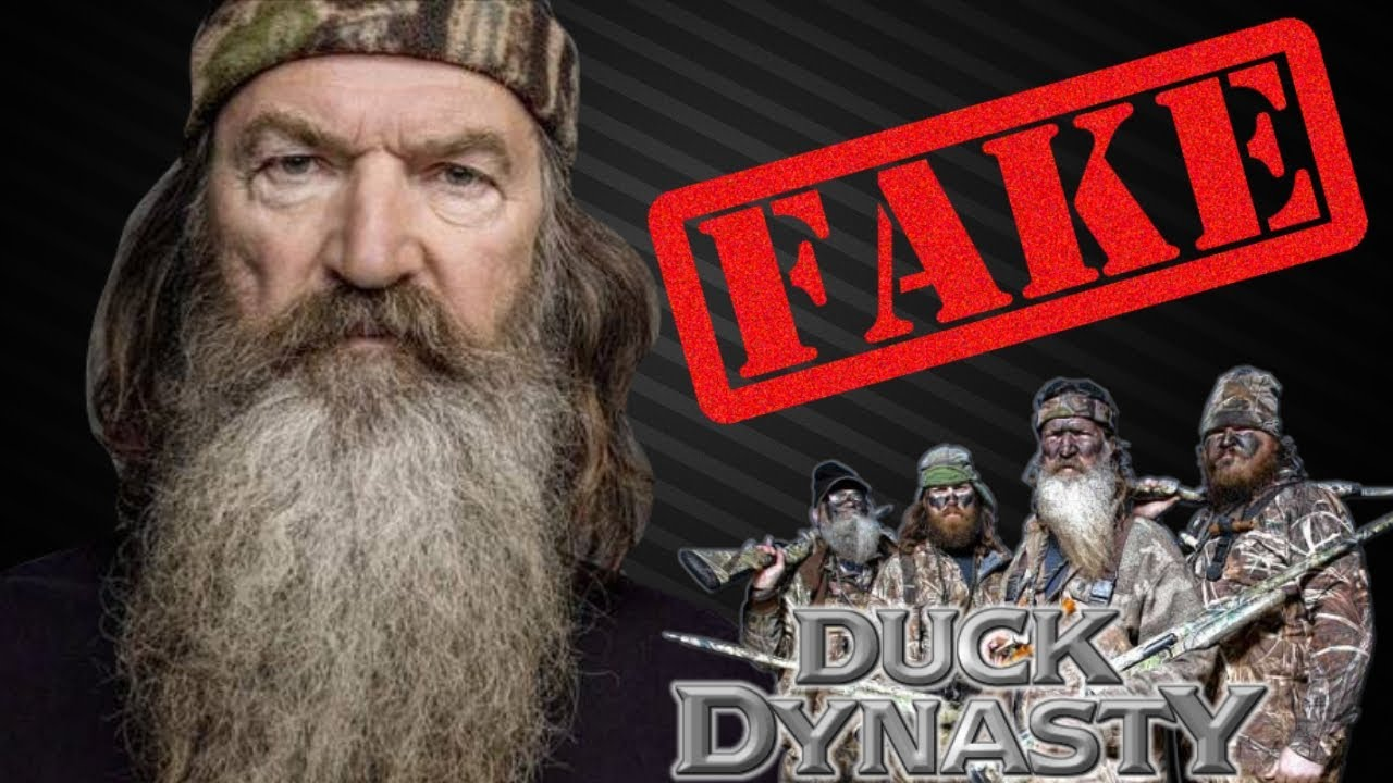 Duck Dynasty Is Fake! - YouTube