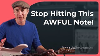 Are you guilty of hitting this awful note? Learn how to use the Major Pentatonic In A Blues!