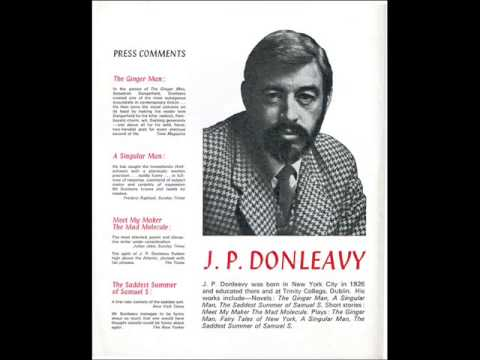 J.P. Donleavy & Stephen Banker interview, ca. 1978