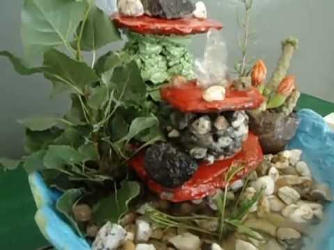 Como hacer una fuente relajante de agua experimentos for Fuentes de agua decorativas