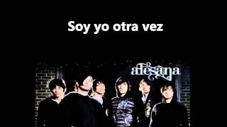 The last three letters- Alesana (sub español)