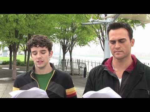 Cheyenne Jackson and Michael Urie reenact Perry v Schwarzenegger Video