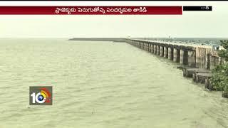 శ్రీరాంసాగర్ కు జలకళ… | Sriram Sagar gets huge flood water | Nizamabad
