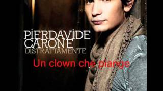 Un clown che piange - Pierdavide Carone (distrattamente)