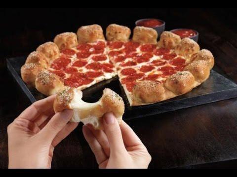 WE Shorts - Pizza Hut Stuffed Garlic Knots Pizza