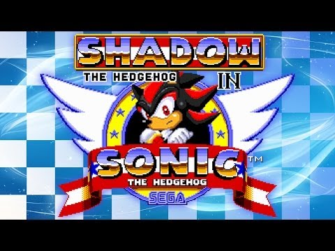 Shadow In Sonic The Hedgehog - Walkthrough video