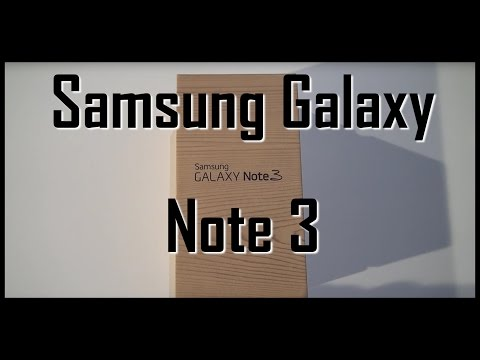 Samsung Galaxy Note 3 unboxing and review (www.buhnici.ro)
