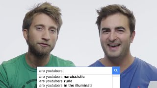 Slow Mo Guys, MatPat, AsapSCIENCE & Burnie Burns Answer the Web's Most Searched Questions | WIRED