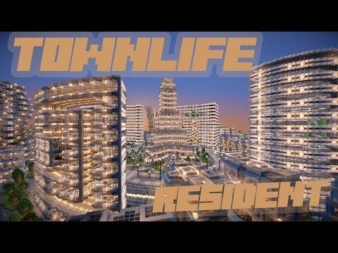 МайнКрафт - Жизнь в городе - Игра за жителя