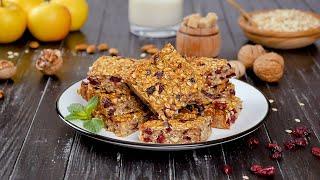 Oatmeal Breakfast Bars - Cook It Recipes