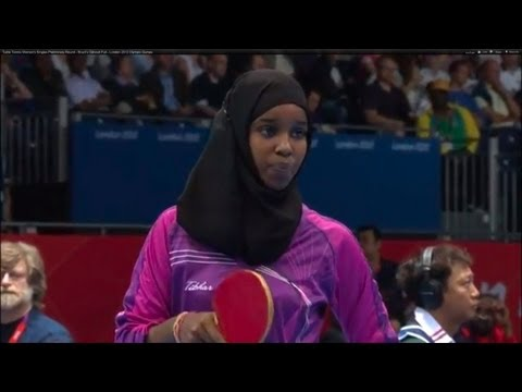 Table Tennis Women's Singles Preliminary Round - Brazil v Djibouti Full - London 2012 Olympic Games