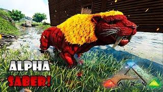 DOMAMOS UM SABERTOOTH ALPHA 1160!!! - ARK SURVIVAL EVOLVED: ETERNAL T2 ◄BaconsExtreme► #04
