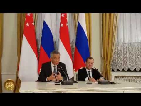 PM Lee Hsien Loong on Singapore-Russian relations