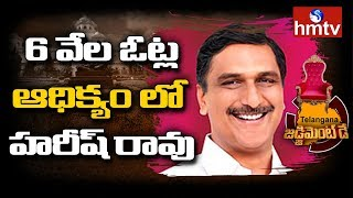 Harish Rao Leading In First Round Counting At Siddipet - Telangana Results - hmtv - netivaarthalu.com