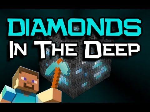 ♪ 'Diamonds In The Deep' Song - A Minecraft PARODY Of Adele 'Rolling In The Deep' (Minecraft Song)