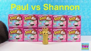 Paul vs Shannon Silly Squishies Poo Blind Box Challenge Unboxing | PSToyReviews