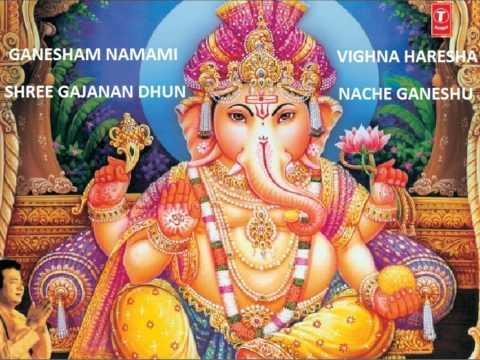 Ganesham Namami Vighna Haresha Shree Gajanan Dhun Nache Ganeshu...