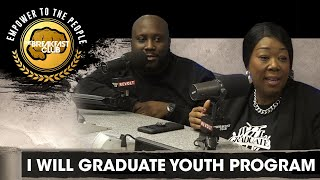 Tonya Lewis Taylor and Sanchez Tuitt Discuss The I WILL GRADUATE Youth Development Program + More