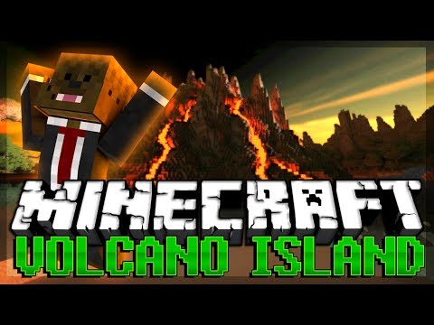 CANNONS in Minecraft Modded VOLCANO ISLAND w/ BajanCanadian and xRPMx13 #4