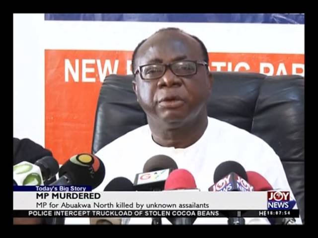 MP Murdered - Today's Big Story on Joy News (-2-16)