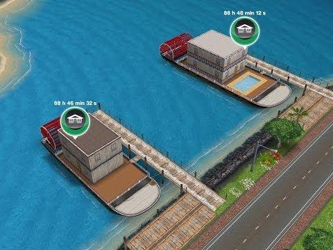 Sims Gratuito || Casa-barco Premium vs Asequible
