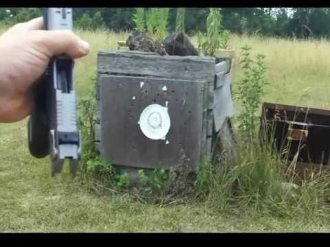 Shooting my Ruger P95 Review.wmv