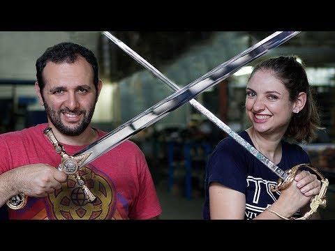 Como são feitas as espadas #Boravê