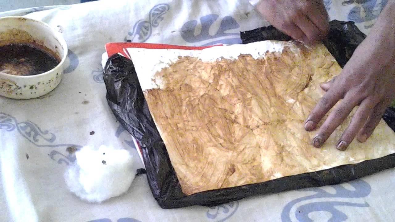 Como hacer una hoja antigua con cafe y cartulina youtube - Como hacer un libro antiguo ...