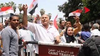 التحرير | مواطنون امام نقابة الصحفيين